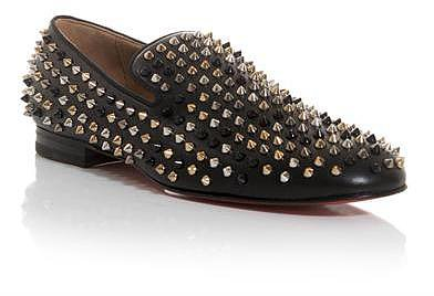 Christian Louboutin Rollerboy spiked loafers