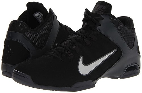 Nike - Air Visi Pro IV - Nubuck (Black/Anthracite/Emboss Natural/Medium Grey) - Footwear