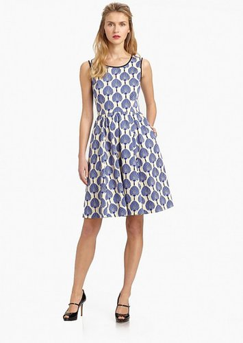 KATE SPADE WHITE MATTY DRESS
