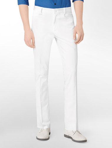 Body Slim Fit Refined Sateen Pants