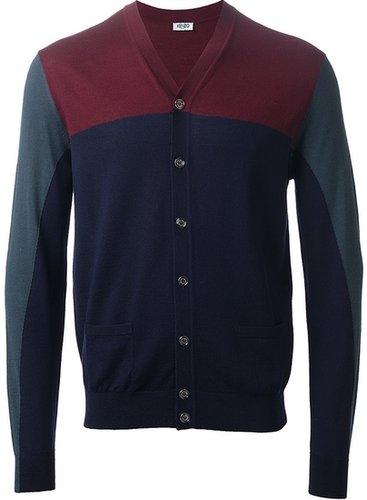 Kenzo buttoned v-neck cardigan