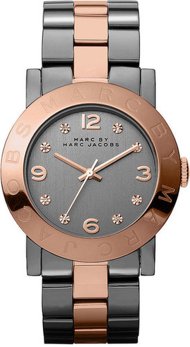 Marc by Marc Jacobs Watch, Women's Two-Tone Stainless Steel Bracelet 36mm MBM8597