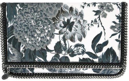 Stella Mccartney floral print 'Falabella' clutch bag