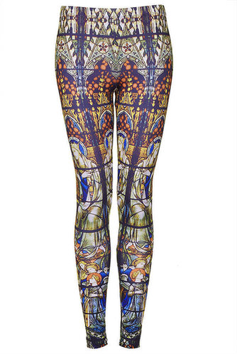 Stain Glass Print Leggings