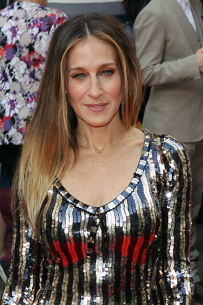 Who didn't love Carrie Bradshaw's decision to wear her hair straight in season two of Sex and the City? The iconic style looks extra special on Sarah Jessica Parker.