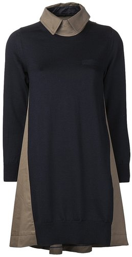 Sacai sweater dress