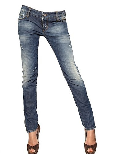 Dsquared - Super Slim Washed Denim Jeans