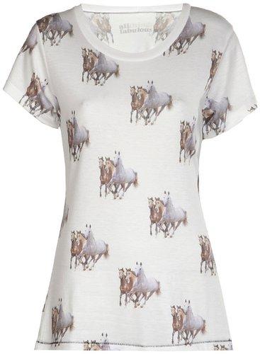 All Things Fabulous running horses t-shirt