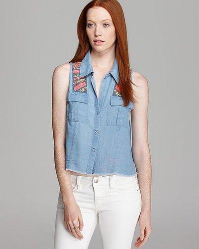 GUESS Shirt - Kaleidoscope Mia Denim