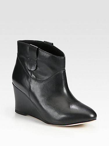 Rebecca Minkoff Doll Leather Wedge Ankle Boots