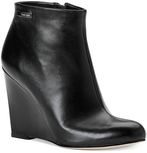 Calvin Klein Women's Boots, Cena Wedge Booties
