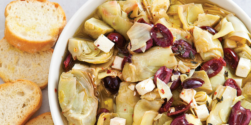 Effortless Marinated Artichoke Hearts