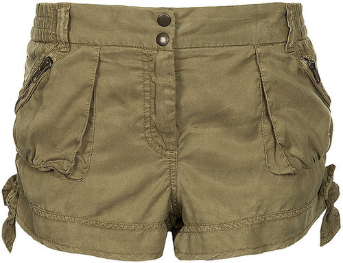 Tie Side Casual Shorts