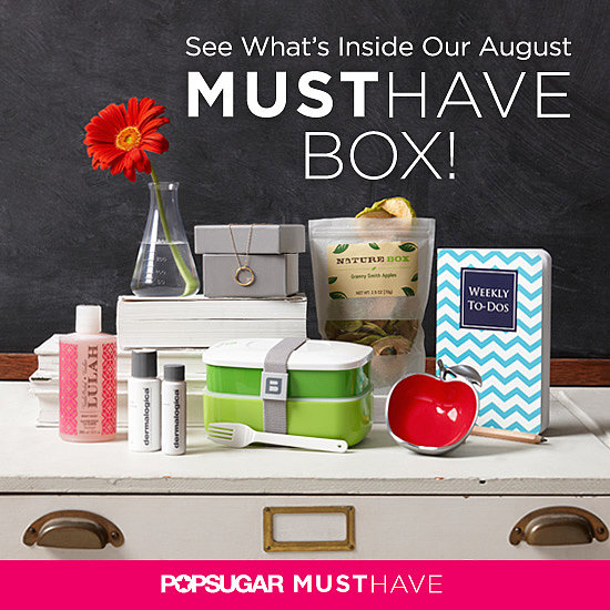 POPSUGAR Must Have August Box — Revealed!