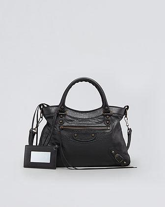 Balenciaga Classic Town Bag, Black