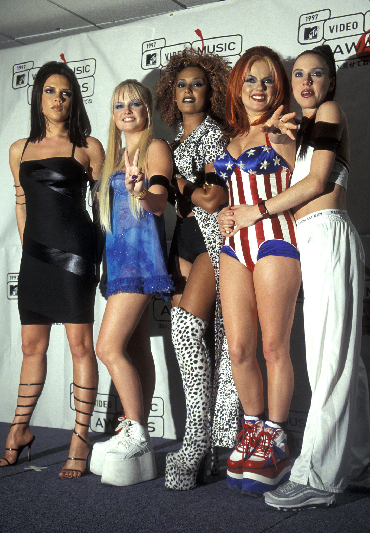 Spice Girls Relive The Most Jaw Dropping Looks From The