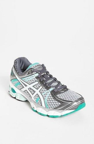 ASICS 'GEL-Flux' Running Shoe (Women) Lightning/ White/ Mint 10 M