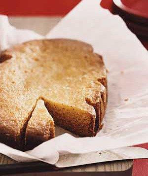 Slow-Cooker Lemon Poppy Seed Cake