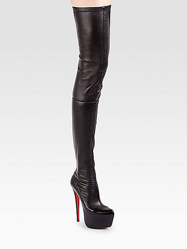 Christian Louboutin Monicarina Thigh-High Leather Boots