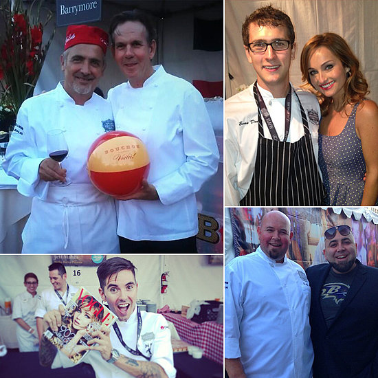 Celebrity Chefs Get Social at the LA Food & Wine Festival