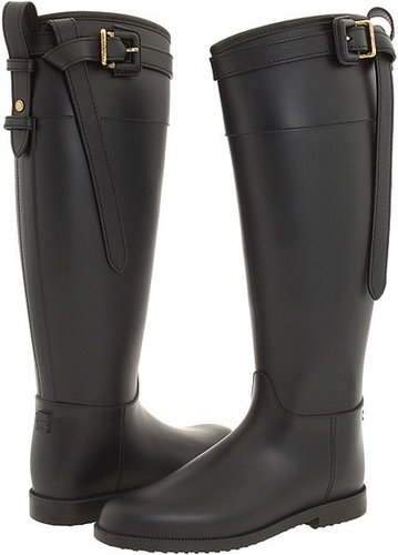 Burberry - Wellington Rain Boot (Black) - Footwear