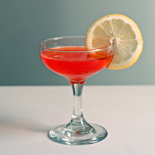 Strawberry vodka cocktail recipe popsugar food for Easy vodka drink recipes