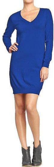 Women's Long-Sleeved Sweater Dresses