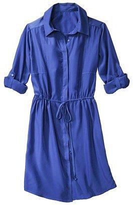 Mossimo® Women's Shirt Dress - Assorted Colors