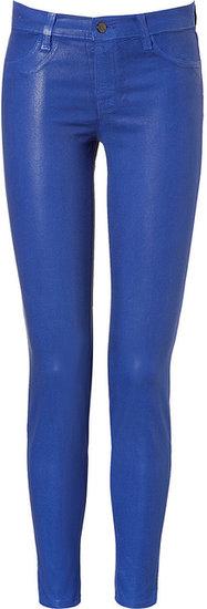 J Brand Jeans Midrise Pants in Electric Iris
