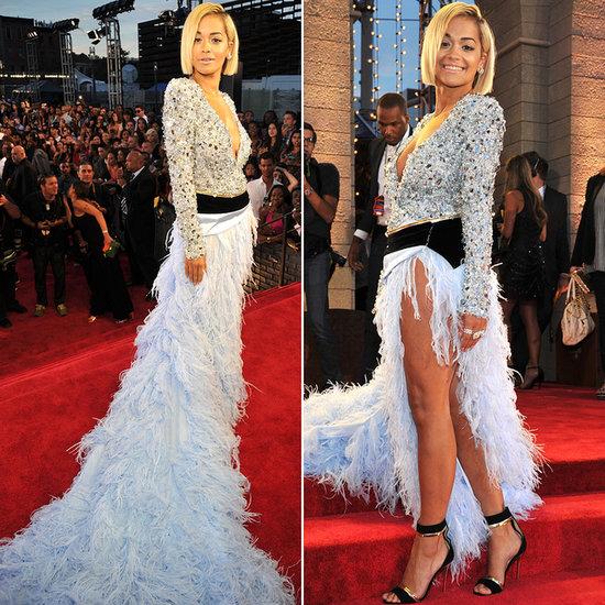 Rita Ora Dress at VMAs 2013   Pictures