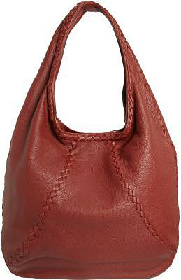 Bottega Veneta Large Woven Seam Hobo Bag