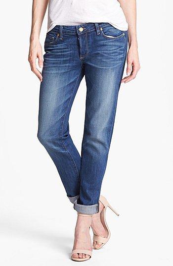 Paige Denim 'Jacob' Boyfriend Jeans (Woodlands) Womens Woodlands Size 26 26