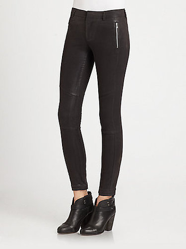 J Brand Ready-To-Wear Angela Coated Skinny Pants