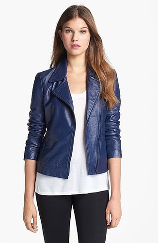 Trina Turk 'Rockefeller' Leather Jacket 0