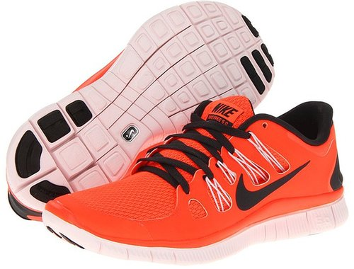 Nike - Free 5.0+ (Black/Dark Grey/White/Metallic Silver) - Footwear
