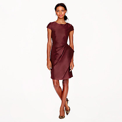 Pre-order Carson dress in silk dupioni