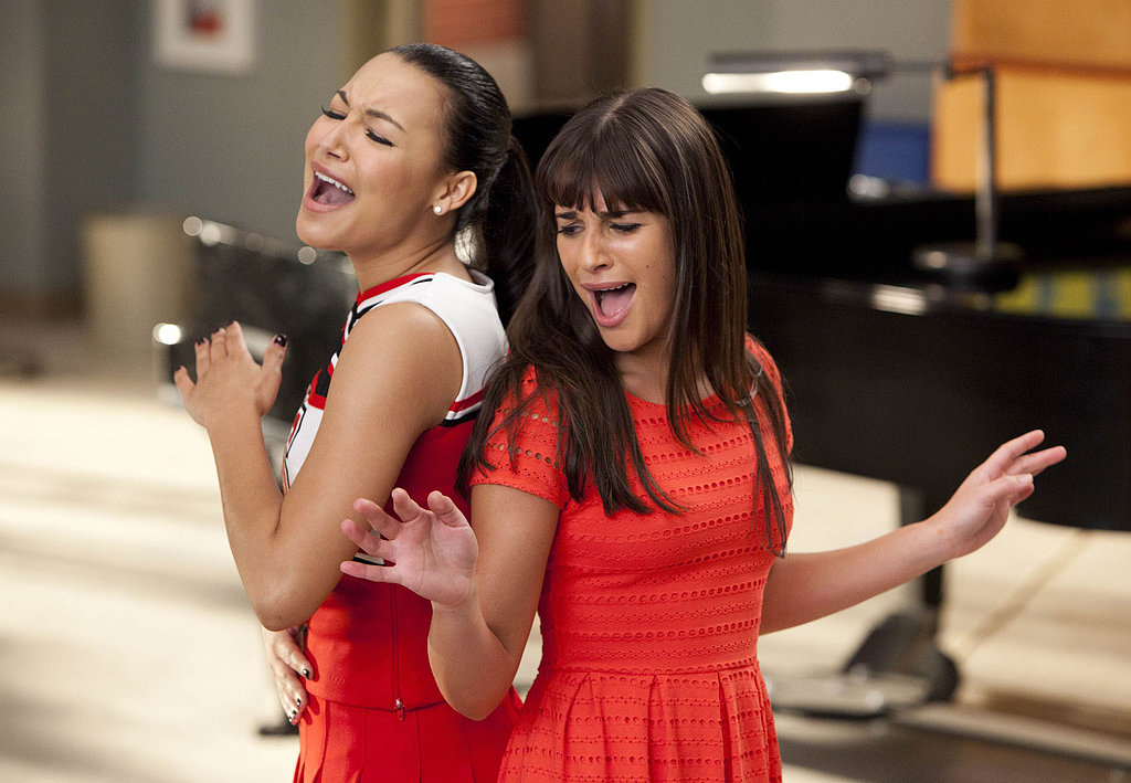 """Long gone are the days of getting """"slushied"""" in the hallway when Rachel's singing Whitney Houston with Santana."""