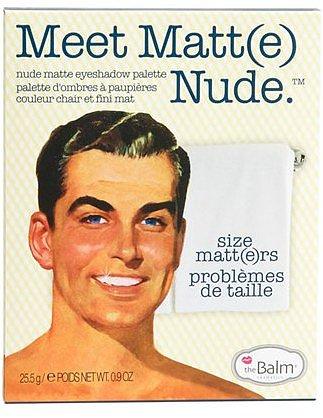 theBalm 'Meet Matte' Nude Eyeshadow Palette