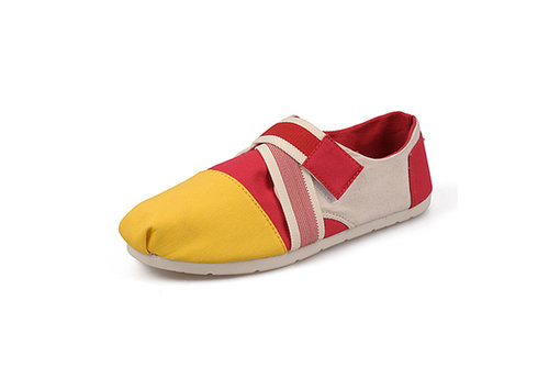 Women's Toms Yellow Magic Montage 2013 New Shoes