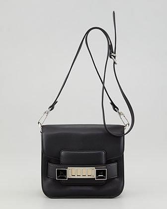 Proenza Schouler PS11 Tiny Crossbody Bag, Black