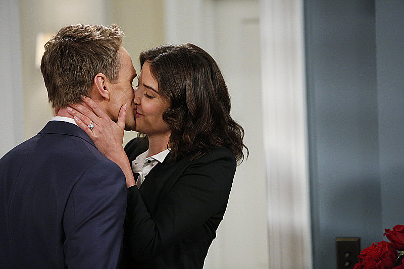 Neil Patrick Harris and Cobie Smulders on How I Met Your Mother.
