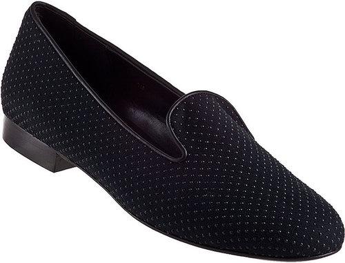 VANELI FOR JILDOR Arlen Dot Loafer Black Suede