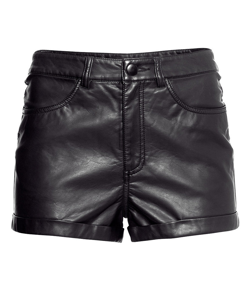 One of the easiest ways to wear shorts this Fall is in leather — this H&M pair ($25) is practically begging to be worn with tights and booties!