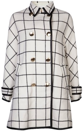 Sacai Luck double breasted coat