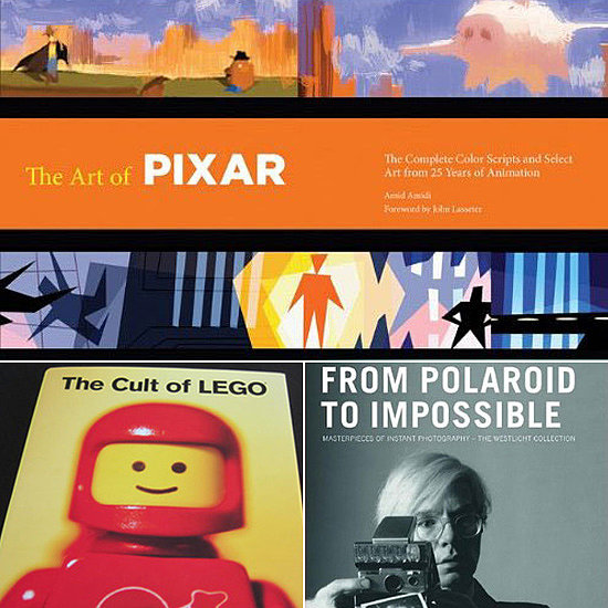 8 Books to Fill a Geek's Coffee Table