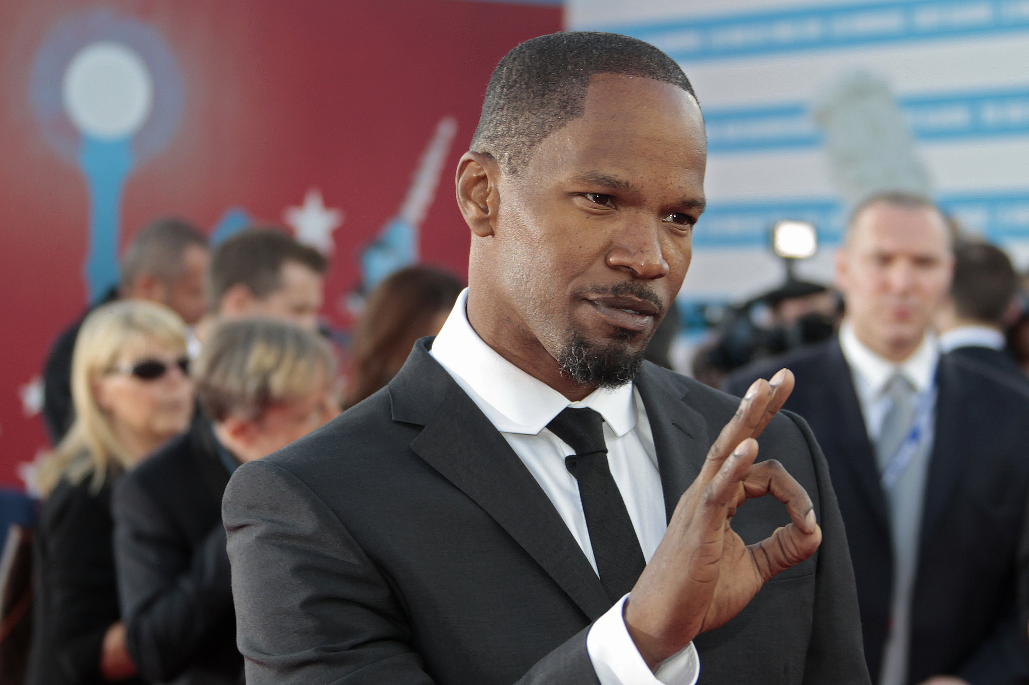 Jamie Foxx was A-OK with the Deauville American Film Festival.