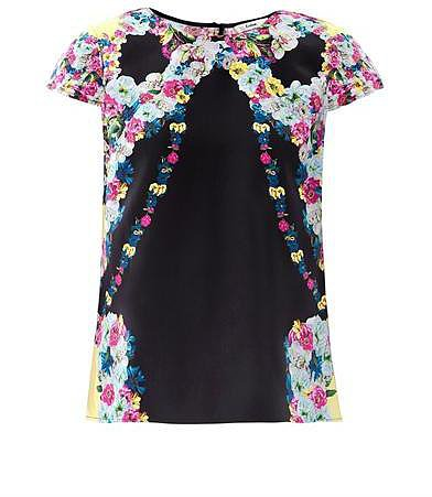 Erdem Amanie floral-print silk blouse