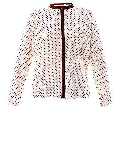 Vanessa Bruno Athé Foulard-print silk blouse