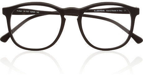 Illesteva Hudson Optical round-frame matte-acetate glasses