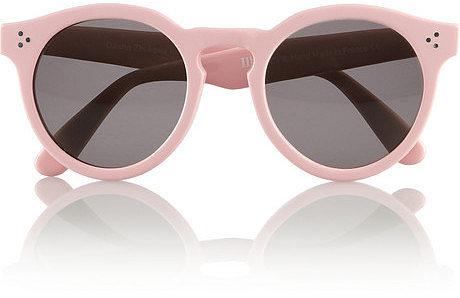 Illesteva + Dasha Zhukova round-frame acetate sunglasses